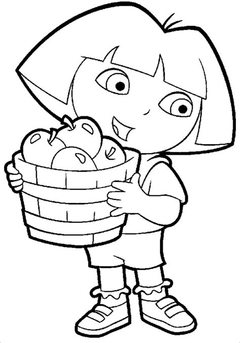 20 Dora Coloring Pages Pdf Png Jpeg Eps Free Premium Templates Templates For Pages Free