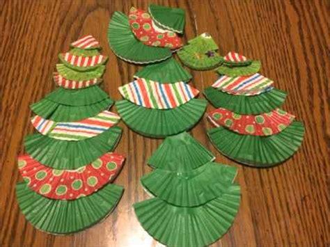 paper christmas tree bulletin board cupcake paper trees by the bulletin board