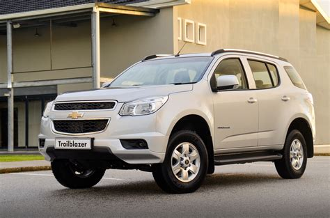chevrolet trailblazer chevrolet trailblazer south africa upgraded for 2014