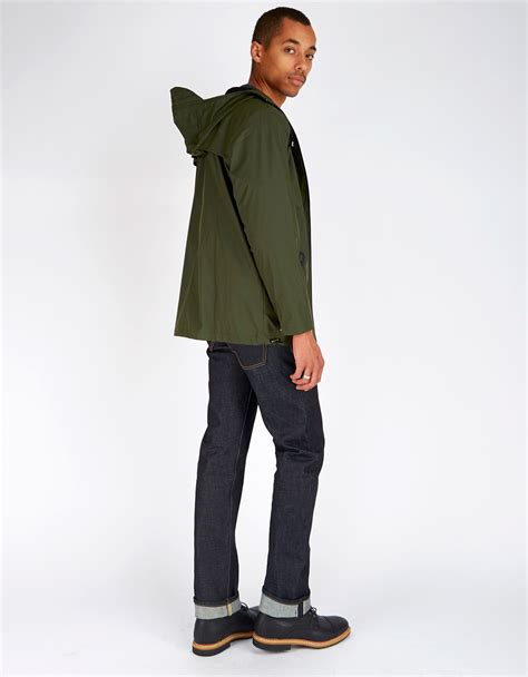 unisex rains breaker jacket s green garmentory