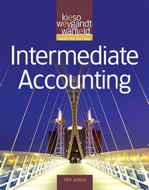 intermediate accounting 14e kieso warfield weygandt