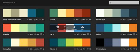 flat color combination essential color tools for ux designers ux planet