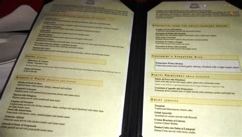 sandals room service menu menu at toscanini s picture of sandals grande st lucian