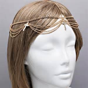 Headpiece Headchain 2012006 bohemian gold clear chain harlow headpiece wedding headchain ebay