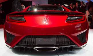 Acura Nsx Stats Acura Nsx Stats And Specs About 2016 Car Release Date