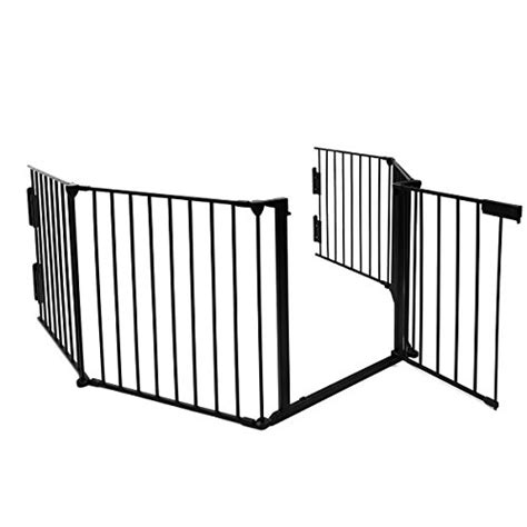 mental fireplace fence baby safety gate pet gate bbq