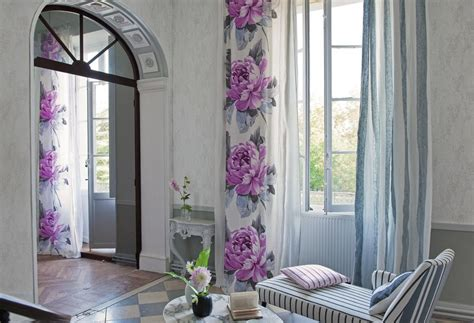 interior design drapes flower wall curtains interior design ideas