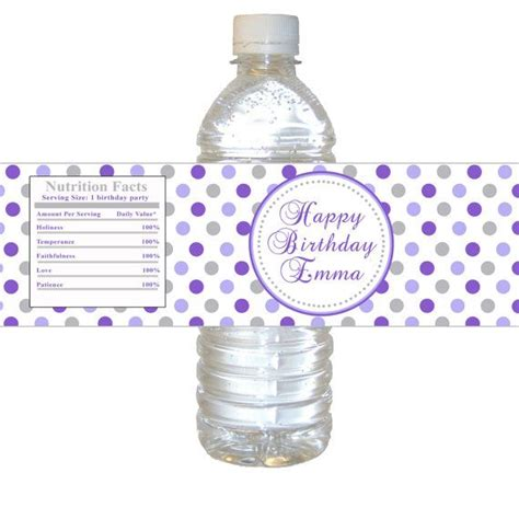 Custom Polka Bottle 589 best images about favors on birthday favors pink polka dots and thank you