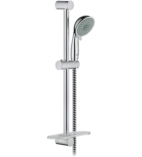 Grohe New Tempesta Rustic 100 Wall Holder Set 4 Sprays 27805000 grohe tempesta rustic shower 28 images grohe tempesta rustic 100 600mm shower rail set 4