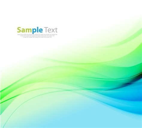 blue green colors abstract blue green color waves background vector