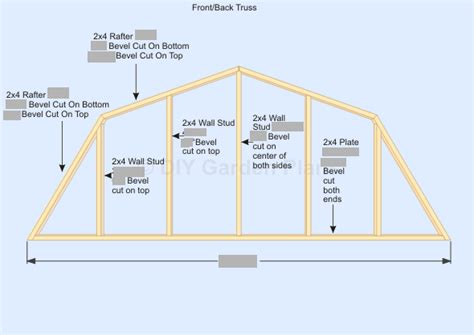 gambrel roof design gambrel shed plans with loft roof