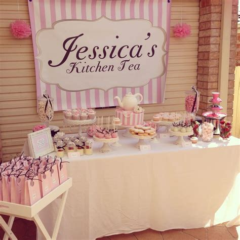 kitchen tea ideas themes my kitchen tea bridal shower candy buffet wedding