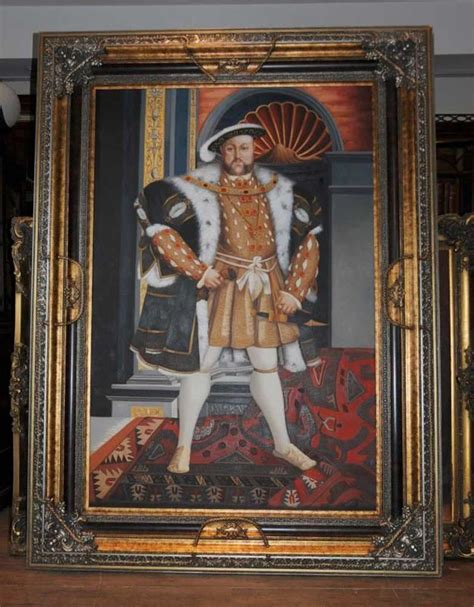 painting king xl painting king henry viii 8th eight monarch