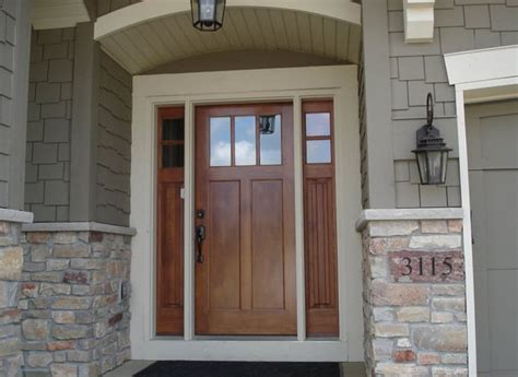 Craftsman Style Front Door 25 Best Ideas About Craftsman Style Front Doors On Craftsman Front Doors Craftsman
