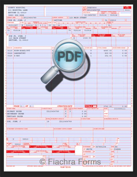 ub 04 fill and print related keywords ub 04 fill and