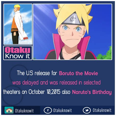 boruto quotes boruto the movie facts otaku know it