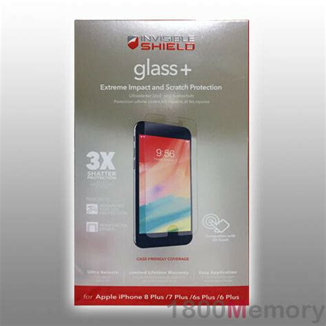 zagg invisible shield tempered glass screen protector