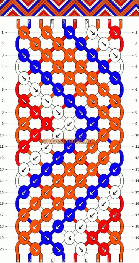zig zag pattern friendship bracelet instructions zig zag friendship bracelets