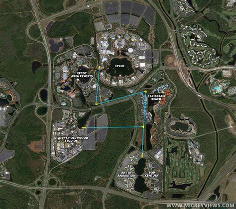 disney maps official walt disney world gondola system map fan