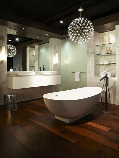 parquet salle de bain les inspirations deco  parqueterie