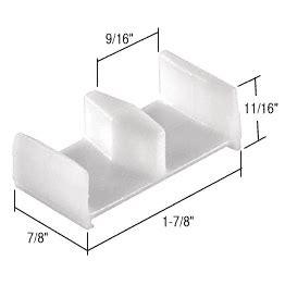 Shower Door Bottom Guide Replacement Parts From Sears Com Kinkead Shower Door Parts