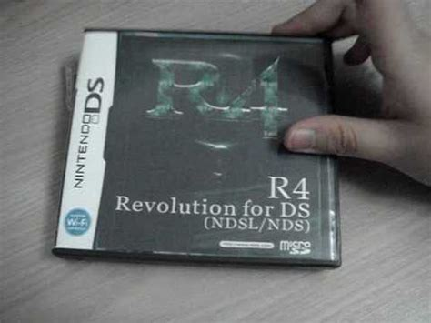 R4 Nds unboxing r4 for the nintendo ds