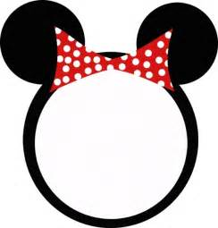 minnie mouse templates clipart