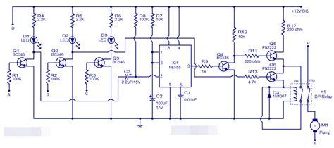 Lu Led Dc 7 Watt Cmos eletr 244 nica co el 233 trico controlador de n 237 vel de 225 gua