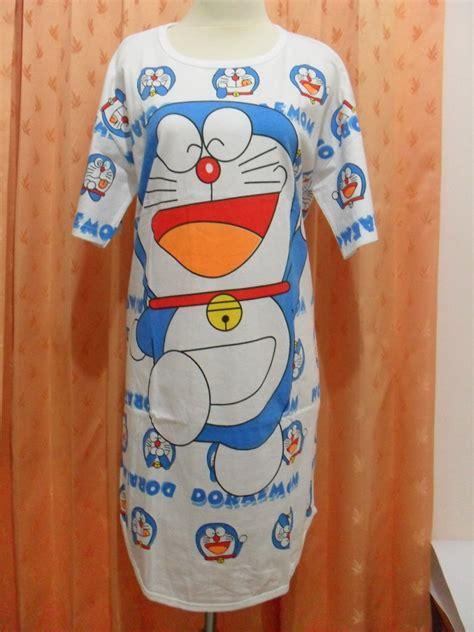 Daster Midi Doraemon 1 grosiran daster doraemon