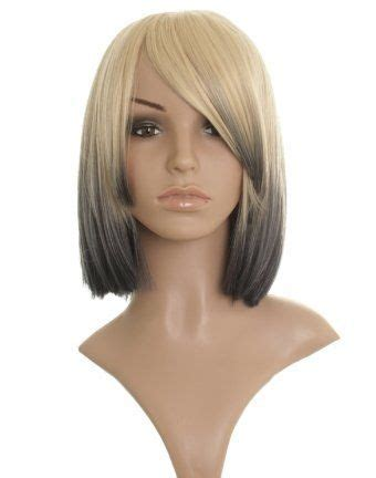 long bob with dipped ends hair 1000 ideas about dip dye bob on pinterest short green