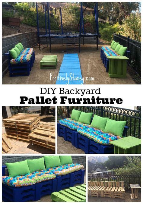 backyard pallet furniture 113 best backyard ideas images on pinterest backyard