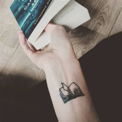 tattoo pictures book 40 amazing book tattoos for literary lovers small book