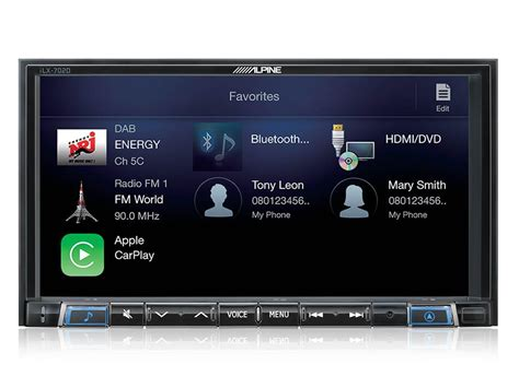 carplay android autoradio dvd alpine ilx 702d carplay and