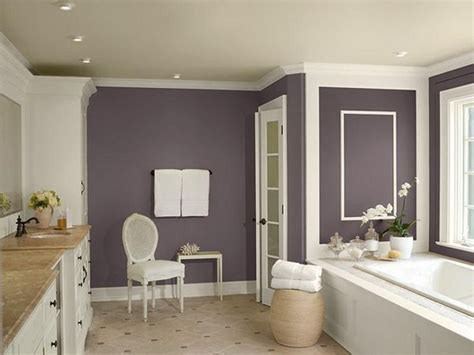 purple bathroom paint ideas purple and grey bathroom neutral bathroom color schemes