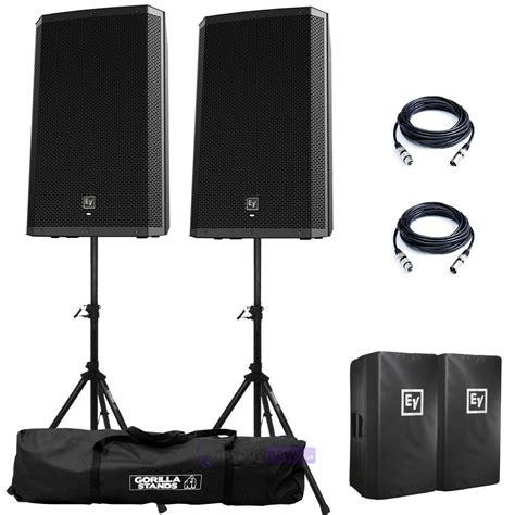 Speaker Aktif Electro Voice Zlx 15p Zlx 15p Zlx15p 1000 Watt electro voice zlx 15p active speakers stands
