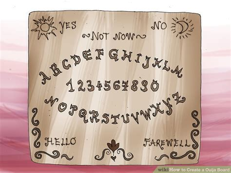 How To Make A Wigi Board Out Of Paper - how to create a ouija board with printable ouija board