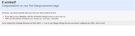 django tutorial error django tutorial 2 start the development server why i