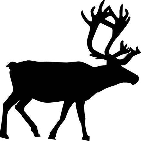 reindeer silhouette template reindeer outline search results calendar 2015