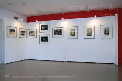 gallery display connect walls exhibition boards exhibition board