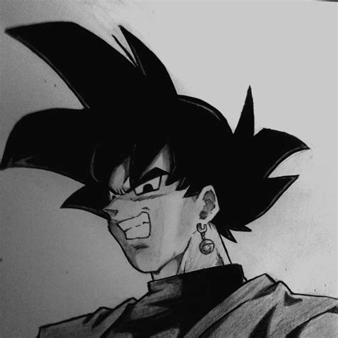 imagenes goku black para dibujar dibujo certificado black goku dragon ball super