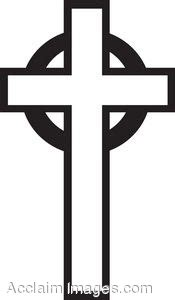 black and white cross image clipart best