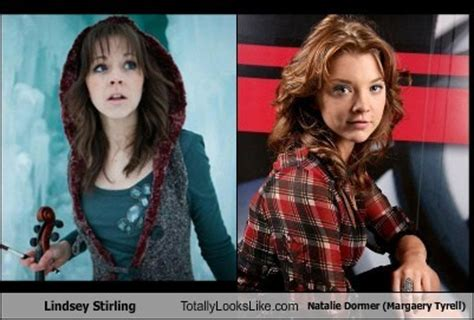 Natalie Dormer Look Alike Stirling And Natalie Dormer Margaery Tyrell