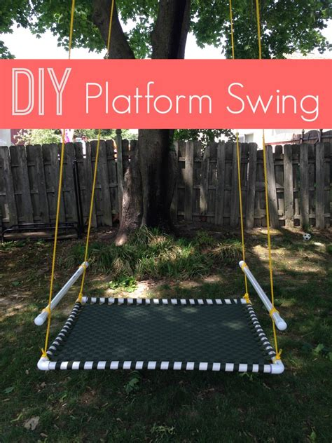 homemade tree swing stylish diy variations of the old fashioned tree swing