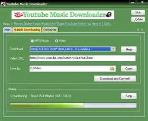 Youtube video music converter download music and video from youtube