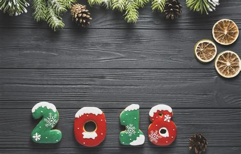 new year cookies 2018 wallpaper 2018 cookies new year spruce images for