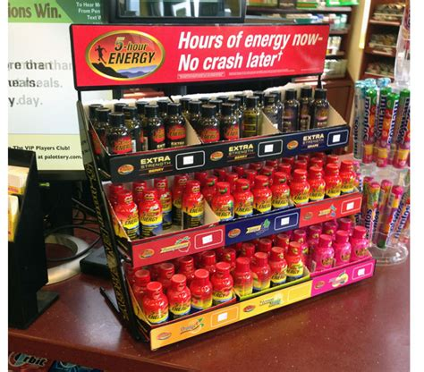5 Hour Energy Shelf by Energy Are Targeting Shoppers At The Counter Point Of Purchase International Network
