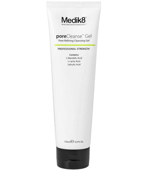 Detox Gel Pore Treatment Directions by Medik8 Porecleanse Gel Cleansers Scrubs Medik8
