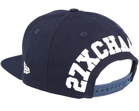 new york yankees l new york yankees winners patch navy snapback new era