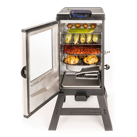 find the best digital electric bbq smoker for you indoor grilling featuring the masterbuilt electric smoker
