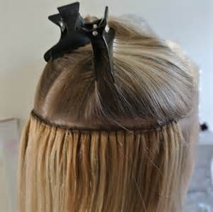 extensions caucasian thin hair micro weft hair extensions before and after tape on and